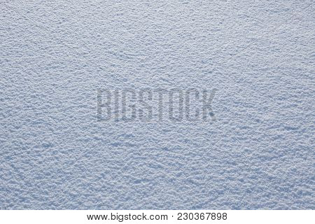 Beautiful snow background close up