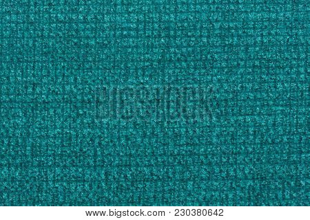 Saturated Textile Background In Sapphirine Hue. High Resolution Photo.
