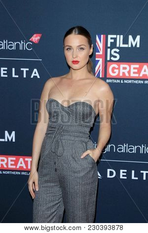 LOS ANGELES - MAR 2:  Camilla Luddington at the Film Is GREAT Reception Honoring British Oscar Nominees at the British Residence on March 2, 2018 in Los Angeles, CA