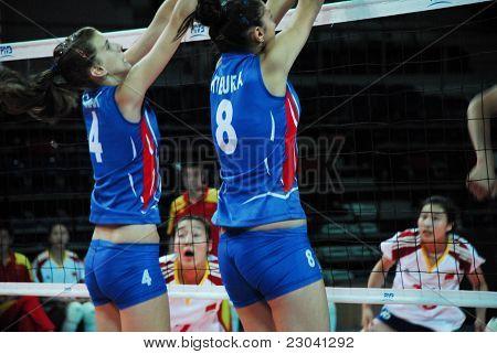 Serbia - China Volleyball Match
