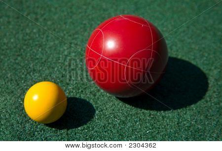 Bocce Ball Coseup