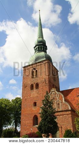 Radsted Kirke From 1200 In Sakskøbing On The Island Lolland. Denmark