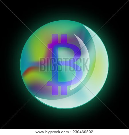 Bitcoin Sign, Cryptocurrency, Cloud Mining, Internet Money, Cryptocurrency Mining, Online Earnings,