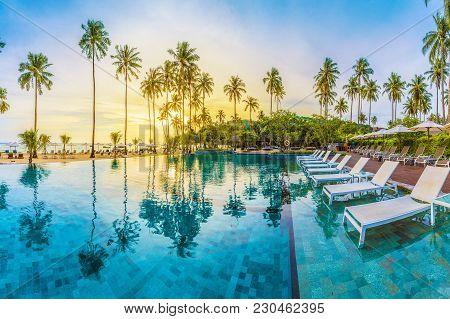 Loh Samah Bay, Phi Phi, Thailand - January 23, 2018: Loh Samah Bay, Phi Phi Island, Thailand