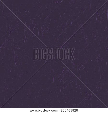 Seamless Dark Purple Background. Grunge Texture, Seamless Pattern. Abstract Vector. Layer For Creati