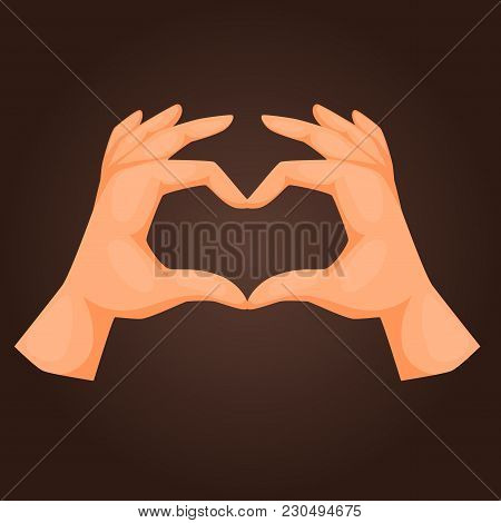 Hands Showing Deaf-mute Gestures Human Pointing Arm Hold Collection Communication And Direction Desi