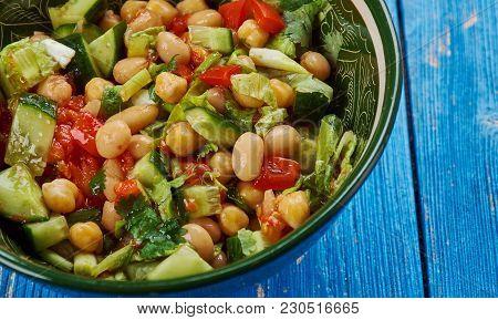 Middle Eastern-style  Salad,  Balela