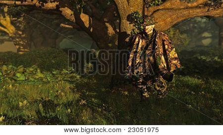 Futuristic Forest Ranger