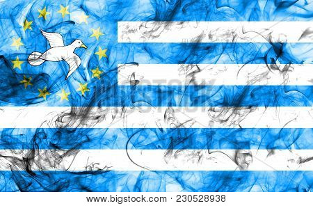 Federal Republic Of Southern Cameroons Smoke Flag, Dependent Territory Flag