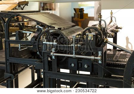 Vienna, Austria - 24 August 2017:the Technical Museum In Vienna Exhibits The Production Exposition I