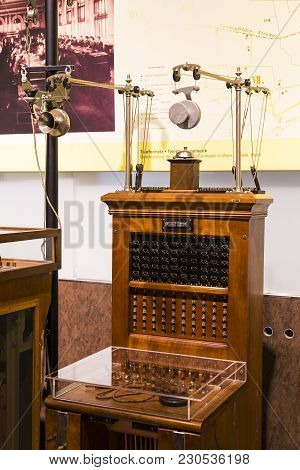 Vienna, Austria - 24 August 2017:the Technical Museum In Vienna Exhibits The Production Of History O