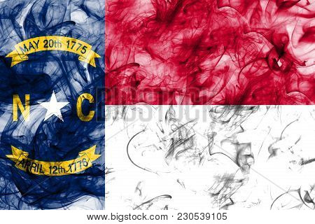 North Carolina State Smoke Flag, United States Of America