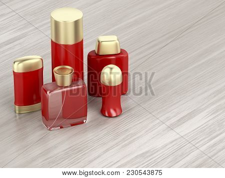 Set Of Men's Cosmetic Products