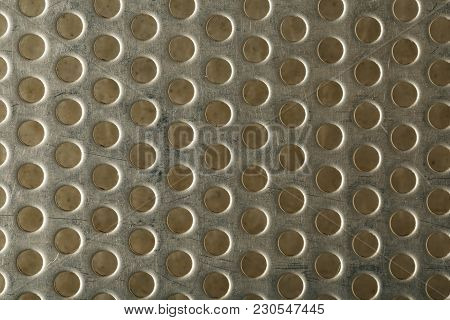 Yellow Steel Mesh Screen Background And Texture