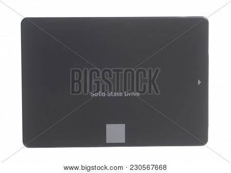 Solid State Drive Ssd Isolated On White Background