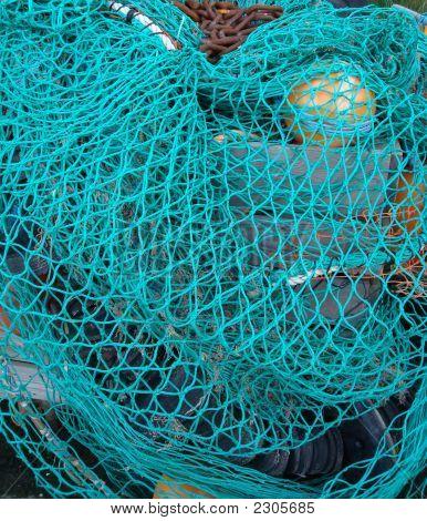 Blue Fishing Net