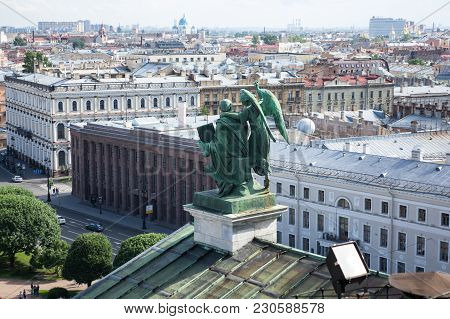 Top View Of Saint-petersburg, Russia