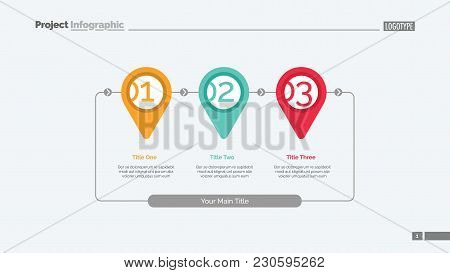 Business Stages Of Achieving Goal Slide Template. Business Stages Slide Template. Graph, Diagram, De