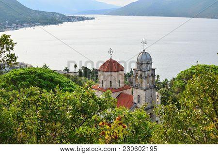 Savina Monastery In A Lush Summer Landscape