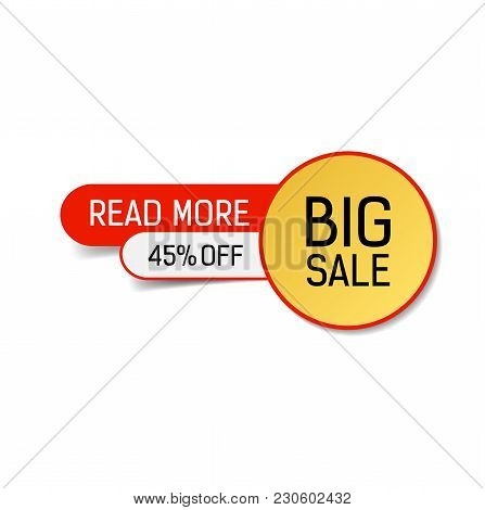 Big Sale Forty Five Percent Off Read More Lettering. Sale Design Element. Typed Text, Calligraphy. F