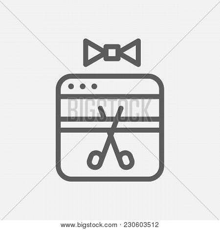 Launch Icon Line Symbol. Isolated  Illustration Of  Icon Sign Concept For Your Web Site Mobile App L