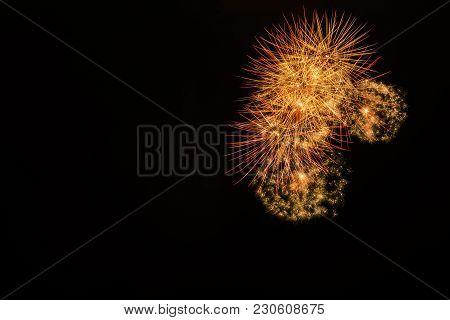 Fireworks Night Show In London, United Kingdom