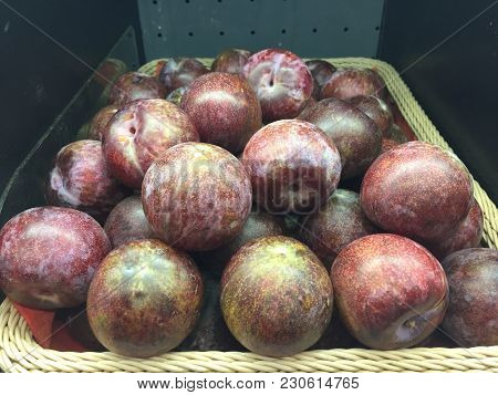 Kind Of Fruit On The Super Market.