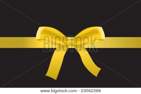 Golden vector ribbon