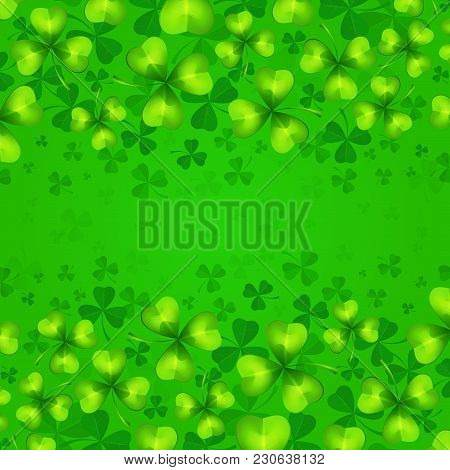 St Patricks Day Green Background