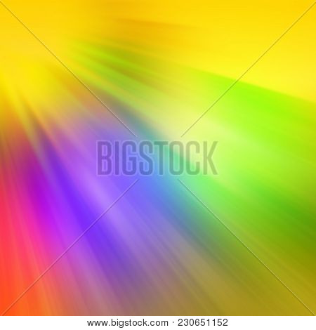 Radial Blurred Colored Rays. Abstract Background. Design Element.
