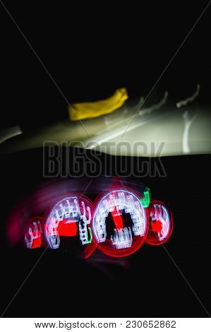 Driving Dangerously While Intoxicated At Night With Blurry Vision
