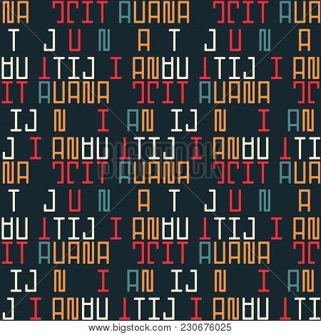 Tijuana Seamless Pattern. Autentic Artistic Design For Background.