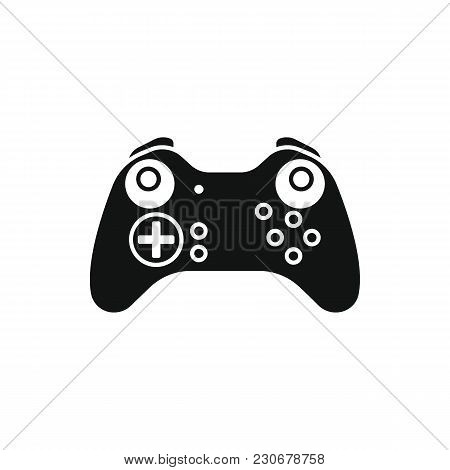 Game Controller Icon. Silhouette Illustration Of Game Controller Vector Icon For Web And Advertising