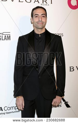 LOS ANGELES - MAR 4:  Mohammed Al Turki at the 2018 Elton John AIDS Foundation Oscar Viewing Party at the West Hollywood Park on March 4, 2018 in West Hollywood, CA
