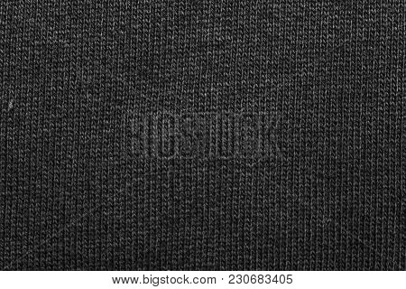 Neutral Grey Texture Cotton Sack Sacking Country Background.