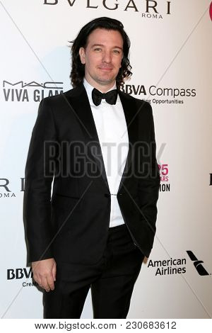 LOS ANGELES - MAR 4:  JC Chasez at the 2018 Elton John AIDS Foundation Oscar Viewing Party at the West Hollywood Park on March 4, 2018 in West Hollywood, CA