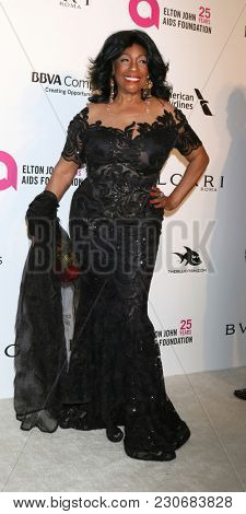 LOS ANGELES - MAR 4:  Mary Wilson at the 2018 Elton John AIDS Foundation Oscar Viewing Party at the West Hollywood Park on March 4, 2018 in West Hollywood, CA