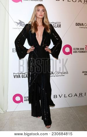 LOS ANGELES - MAR 4:  Megan Williams at the 2018 Elton John AIDS Foundation Oscar Viewing Party at the West Hollywood Park on March 4, 2018 in West Hollywood, CA