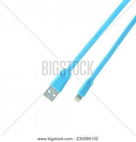 Usb cable close up