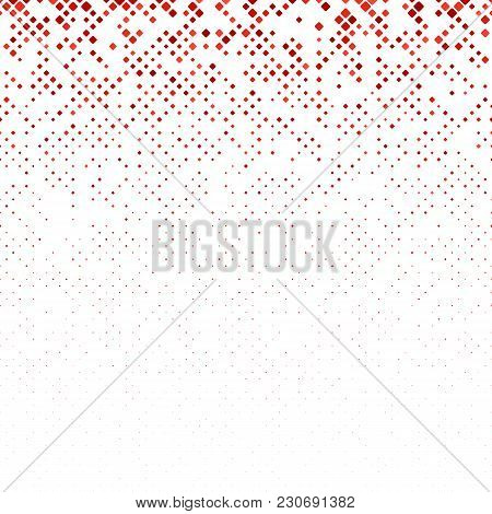 Abstract Diagonal Square Pattern - Vector Mosaic Background Graphic