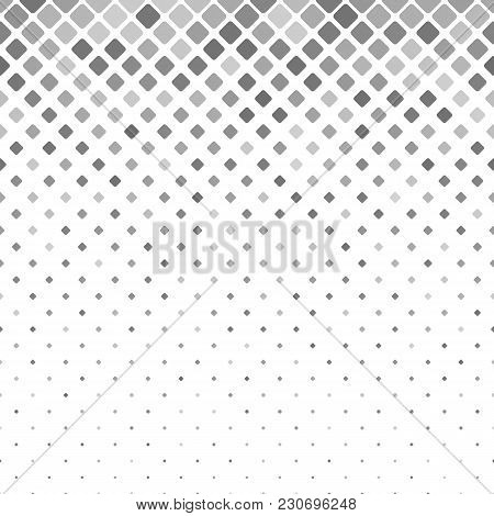 Geometric Rounded Square Pattern - Vector Tile Mosaic Background Graphic
