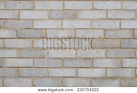 Stone Brick Wal As Background Or Texture , Vintge Gray Color.