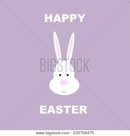 Easter, Happy Easter, Bunny, Rabbit, Vector, Icon