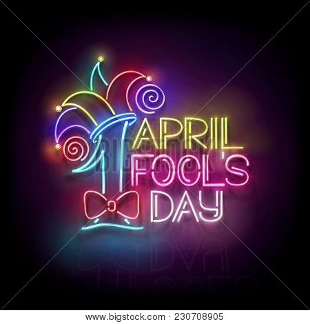 Greeting Card Template For April Fool's Day