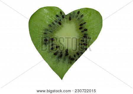 Heart Cardiovascular With Heart- Shaped  Garlic Above,