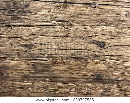 Empty Natural Brown Wooden Background Texture Copy Space