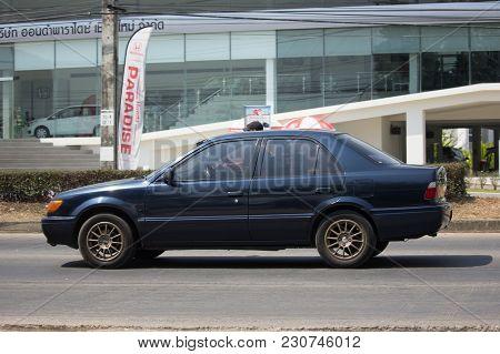 Private Car, Toyota Soluna Vios.