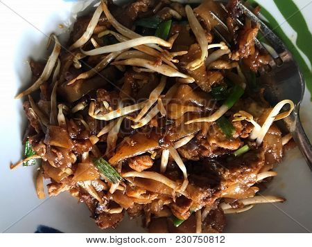 Char Kway Teow, Literally