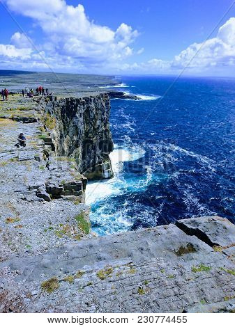 This Photo Was Taken On A Trip To Ireland In Dun Aonghasa