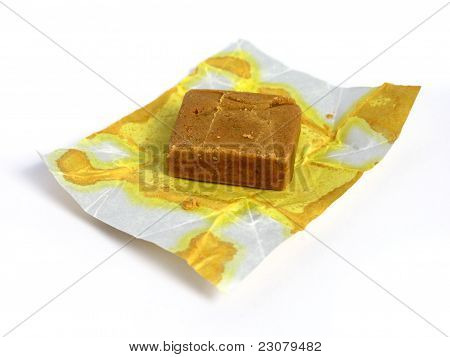 Block of dehydrated flavor with your package